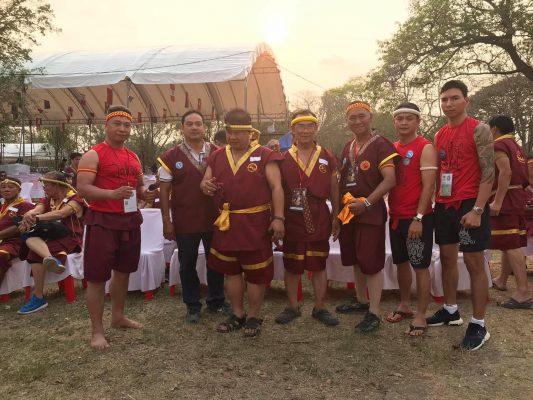 Đại diện liên đoàn Muay Thái Việt Nam