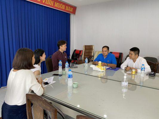 Buổi trao đổi gặp mặt của đại diện hai bên Liên Đoàn Muay Thái Tp.Hồ Chí Minh