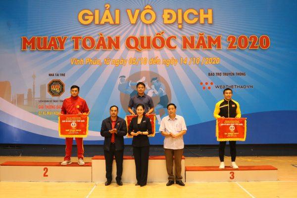 Kết quả chung cuộc giải Vô Địch Muay Toàn Quốc