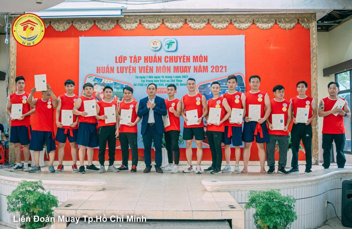 Lớp HLV Muay Thái Tp.Hồ Chí Minh